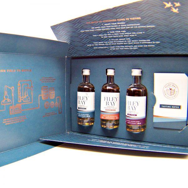 Filey Bay Yorkshire Single Malt Whisky Tasting Set