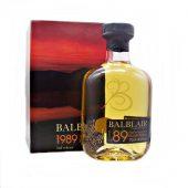 Balblair 1989 Vintage 2nd Release