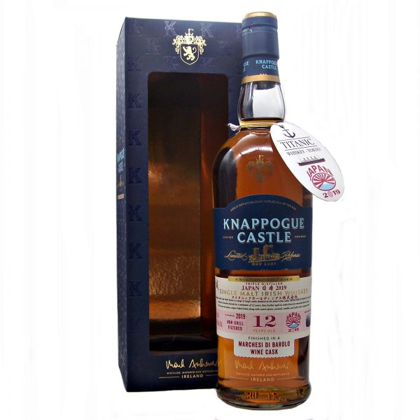 Knappogue Castle 12year old Titanic Whiskey Japan 2019