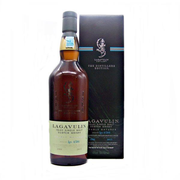 Lagavulin 1999 Distillers Edition Bottled 2015