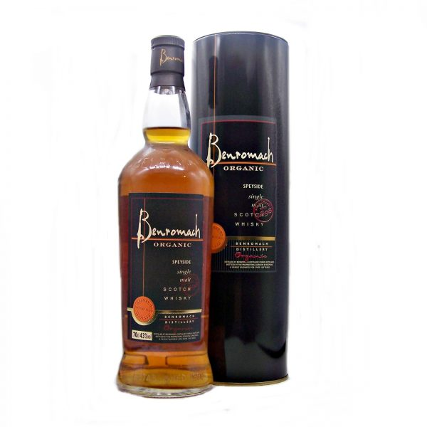 Benromach Organic Single Malt Whisky first release