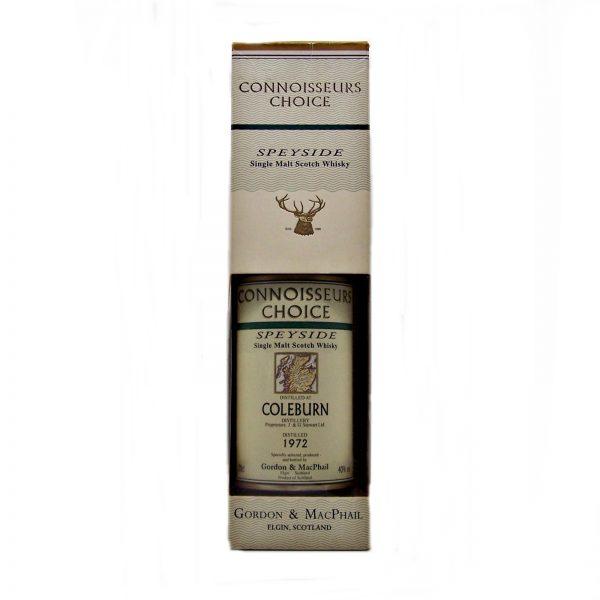 Coleburn 1972 Connoisseurs Choice (bottled 2002)